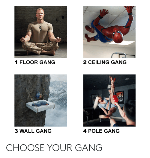 Choose Your: CHOOSE YOUR GANG