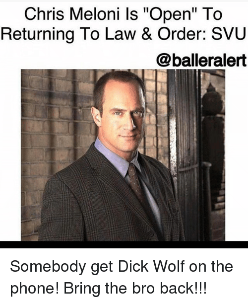 Chris meloni open, free older man young girl