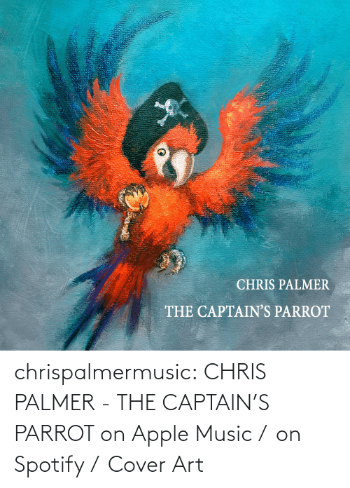 Cover: chrispalmermusic:  CHRIS PALMER - THE CAPTAIN'S PARROT on Apple Music /  on Spotify /  Cover Art