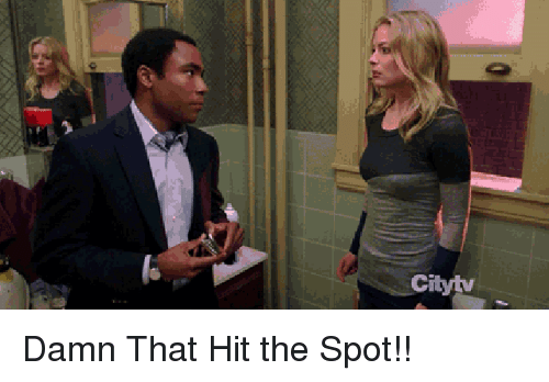 Funny, Spot, and Damn: Cityty Damn That Hit the Spot!!
