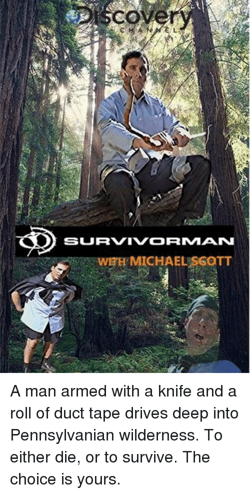 The Office, Michael, and Pennsylvanian: CO  SURVIVORMAN  WEH MICHAEL SSOTT