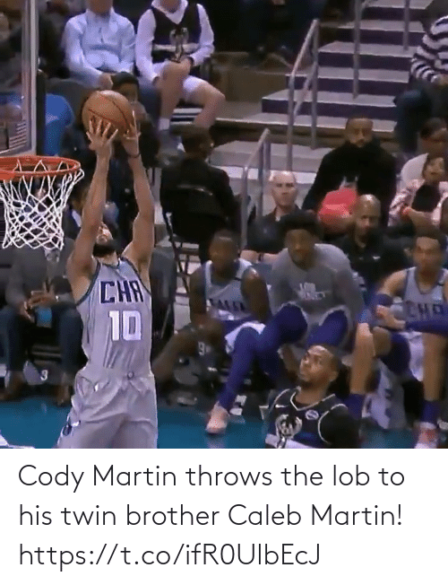 Martin: Cody Martin throws the lob to his twin brother Caleb Martin!    https://t.co/ifR0UlbEcJ