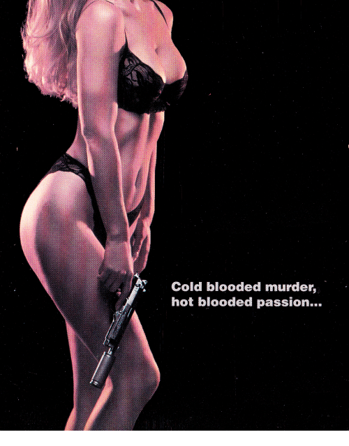 cold blooded: Cold blooded murder,  hot blooded passion...