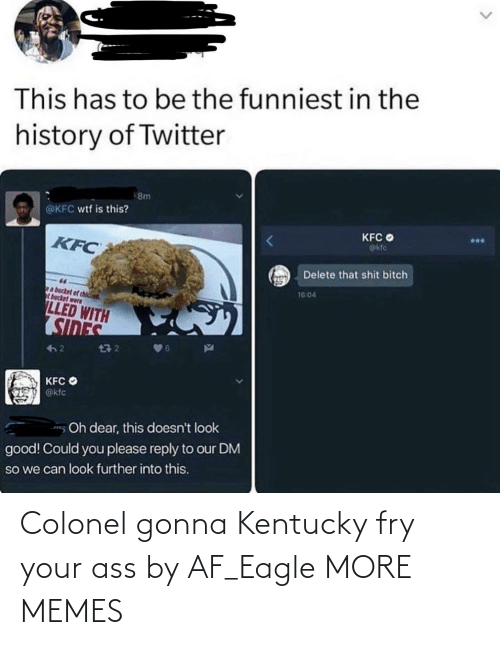 Eagle: Colonel gonna Kentucky fry your ass by AF_Eagle MORE MEMES