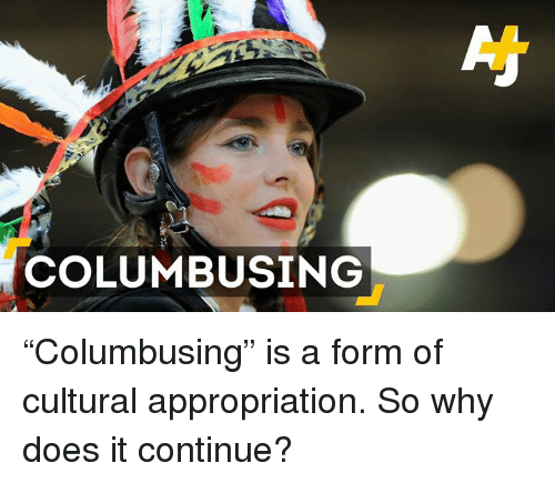 """Doe, Memes, and 🤖: COLUMBUSING """"Columbusing"""" is a form of cultural appropriation. So why does it continue?"""