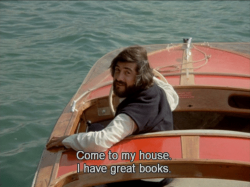Books, My House, and House: Come to my house  I have great books.