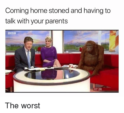 Parents, The Worst, and Weed: Coming home stoned and having to  talk with your parents  07:26 The worst