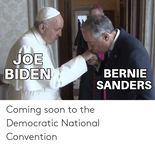 convention: Coming soon to the Democratic National Convention