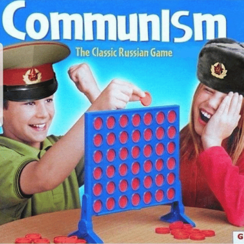 Game, Communism, and Russian: CommuniSm  The Classic Russian Game  G