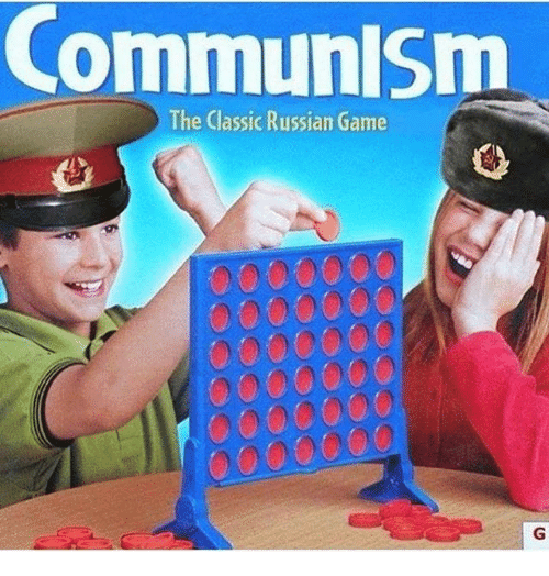 Memes, Game, and Russian: CommunlSm  The Classic Russian Game