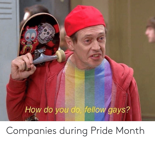 companies: Companies during Pride Month