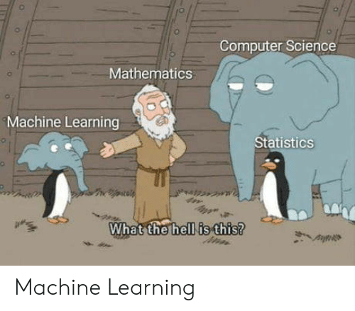 Computer Science: Computer Science  Mathematics  Machine Learning  Statistics  What the hell is this? Machine Learning