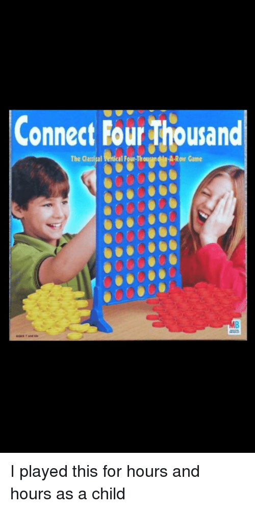 Connect Four Thousand | Funny Meme on Conservative Memes