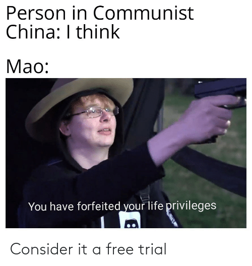 Free: Consider it a free trial
