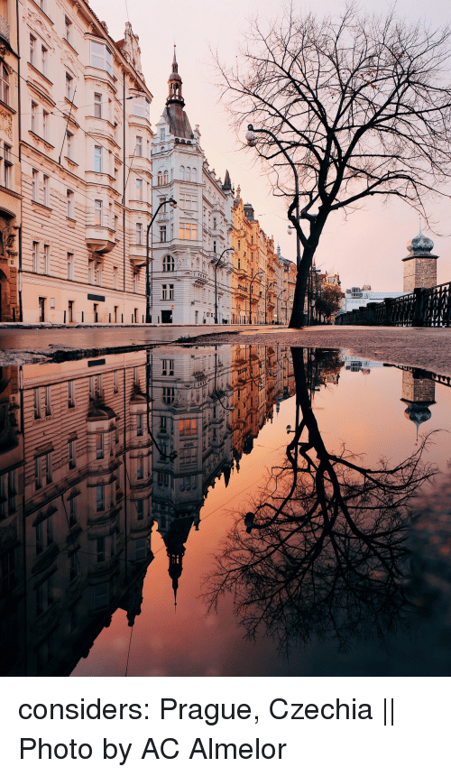 Prague: considers:     Prague, Czechia || Photo by AC Almelor