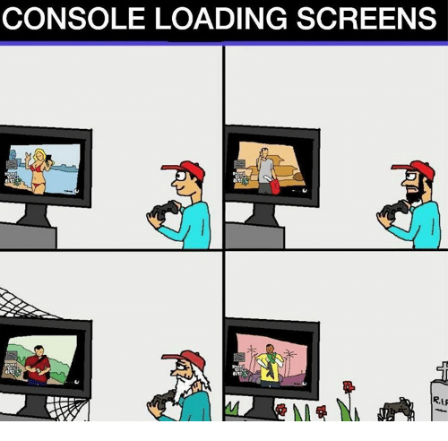 Consolence: CONSOLE LOADING SCREENS