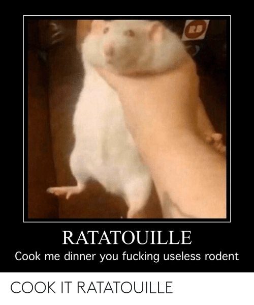 In Ratatouille 2007 Chef Linguine Gets His Dick Sucked Ratatouille Meme On Conservative Memes