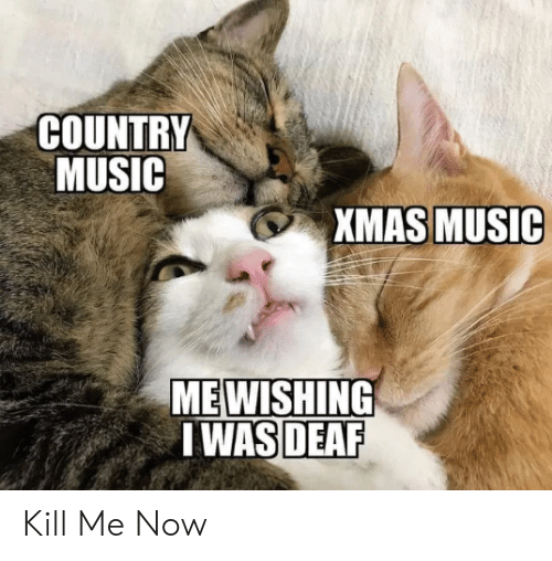 country: COUNTRY  MUSIC  XMAS MUSIC  MEWISHING  I WAS DEAF Kill Me Now