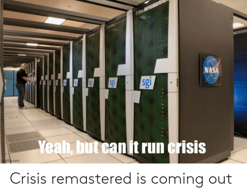 Coming Out: Crisis remastered is coming out