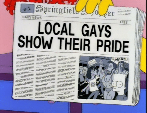 Localism: DAILY NEWS  FREE  LOCAL GAYS  SHOW THEIR PRIDE  PRIDE