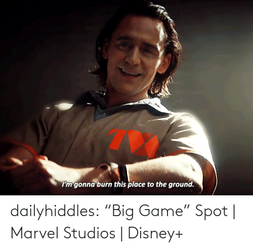 "Marvel: dailyhiddles:  ""Big Game"" Spot 