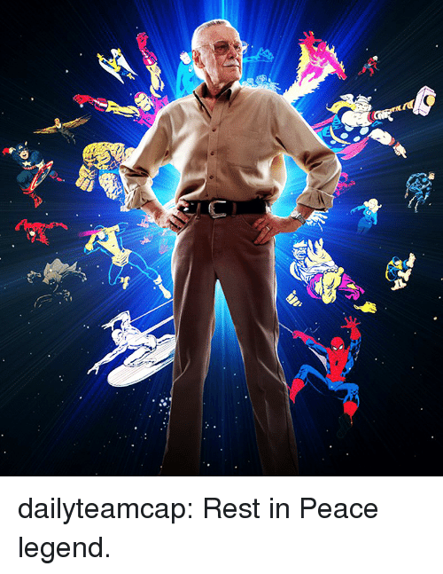 Tumblr, Blog, and Http: dailyteamcap:  Rest in Peace legend.