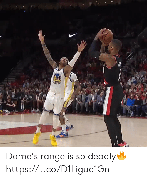 🤖: Dame's range is so deadly🔥 https://t.co/D1Liguo1Gn