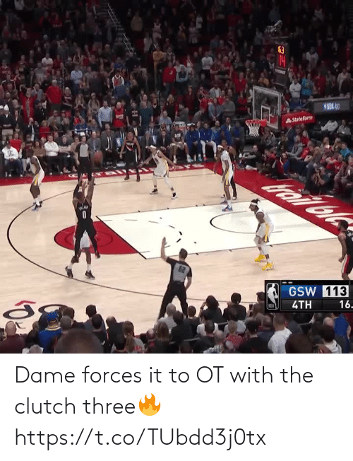 🤖: Dame forces it to OT with the clutch three🔥 https://t.co/TUbdd3j0tx