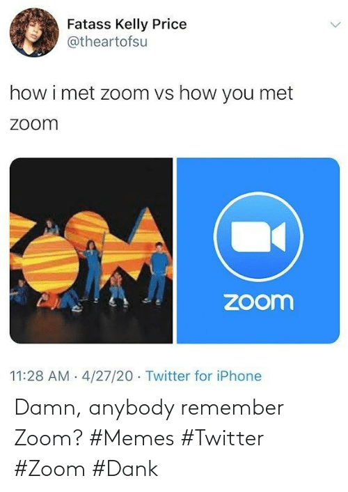 anybody: Damn, anybody remember Zoom? #Memes #Twitter #Zoom #Dank