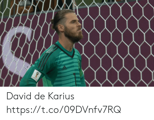 Soccer, David, and Https: David de Karius https://t.co/09DVnfv7RQ