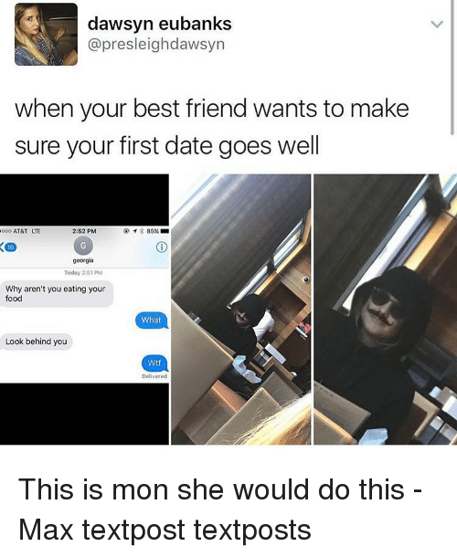 What Would You Do On Your First Date