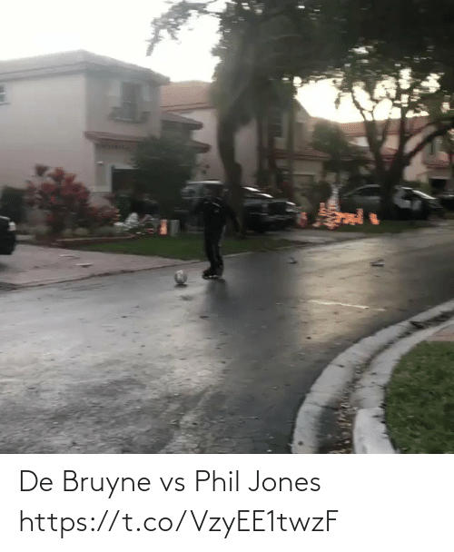Phil: De Bruyne vs Phil Jones https://t.co/VzyEE1twzF