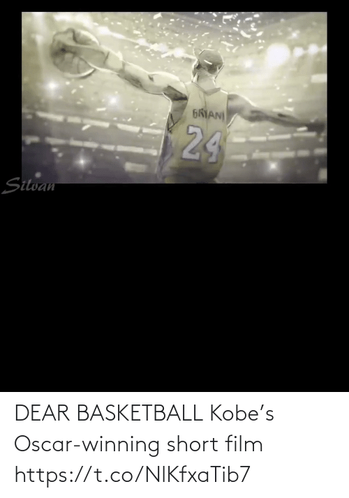 oscar: DEAR BASKETBALL Kobe's Oscar-winning short film    https://t.co/NlKfxaTib7