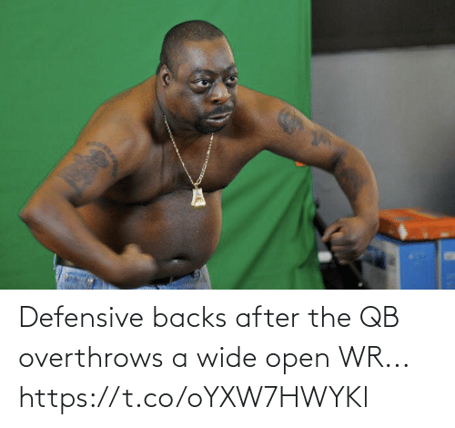 Https T: Defensive backs after the QB overthrows a wide open WR... https://t.co/oYXW7HWYKl