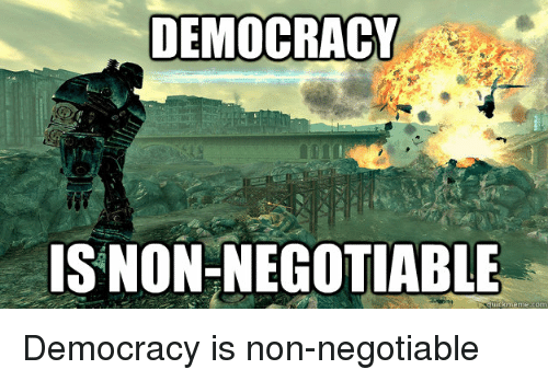 non democracy Democracy vs non democracy there are various forms of governance that are in place in different countries of the world and democracy is only one of them.