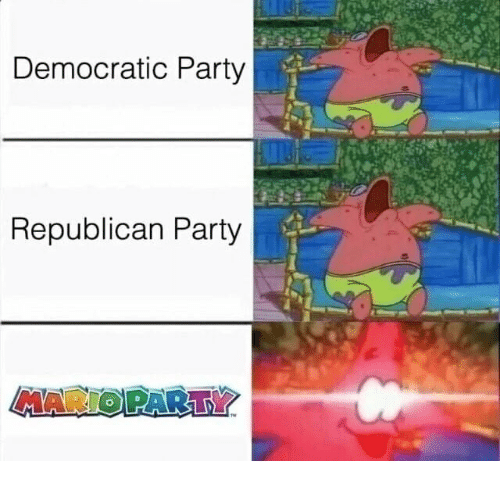 mario party: Democratic Party  Republican Party  MARIO PARTY