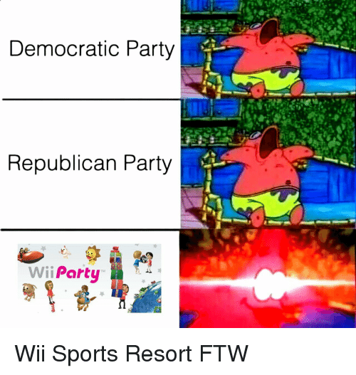 democratic: Democratic Party  Republican Party  Wii Party Wii Sports Resort FTW