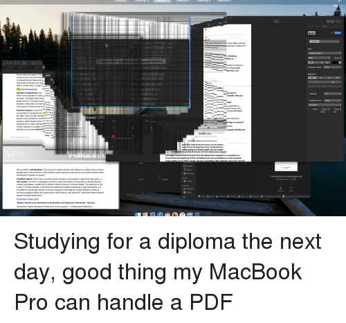 """MacBook Pro, True, and Define: Desktop T  Desktop  2  Desktop  6  ntroduction to Ideologies.pdt (page 38 of 40)  in classical liberal ideas and  nation conservatism, modern  Key developments berntury  Equality of opportunity cana sim  lead to some equality of outclyseas dtaspt  the state. The state would creae.  progress, rather than one whid bes wouk  can choose to advance can be i  Positive freedom is one of the enabls in la  is important to recognise that keened ag sthia  nor can son et of's identid thned through other  v ด้"""" """"on edges and re share ideologies  the state, there are still overl  progress. Both classical and nt th the ts be  modern liberals is to enable pelib  Philip Allan Updates  2013  Hitler believed that the human race has always b  since the beginning of time. He believed warv  believed that the human race has always been engaged  HODDER  Adolf Hitler believed that the human race has always been engaged in a competition for  survival since the beginning of time. He believed war was acceptable as a way of superior  itler believed, and it was """"survival  from a belief in individualism. This is true for modern liberals, who believe in a relative form of social  equality that is still grounded in individualism where equality of opportunity and positive freedom allow  individuals to choose to succeed.  1 Introduction to ldeologies.pdf  PDF document -2.3 ME  Qualified welfare is the means by which positive freedom and equality of opportunity take place. A  free market, one that is unregulated and free of state intervention as favoured by classical liberals  creates inequalities in wealth and conditions similar to those in Victorian Britain. The state has a role  to play for modern liberals in providing the welfare that enables individuals to help themselves. It is  important to note though that the increased role given to the state by modern liberals is limited to  providing qualified welfare and supervision of the economy, and does NOT mean that mode"""