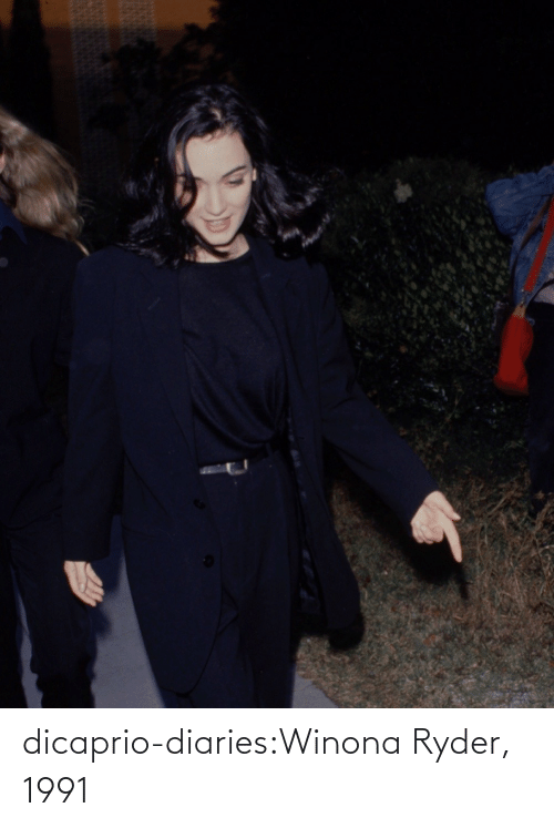 Tumblr, Blog, and Http: dicaprio-diaries:Winona Ryder, 1991
