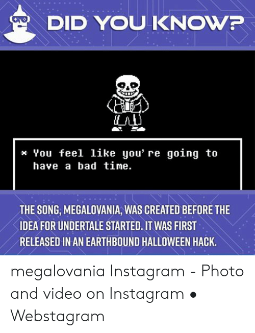 🦅 25+ Best Memes About Megalovania Earthbound | Megalovania