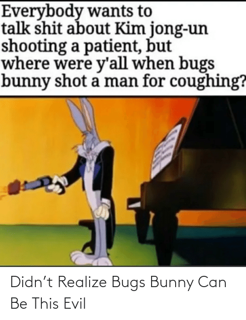 bugs: Didn't Realize Bugs Bunny Can Be This Evil