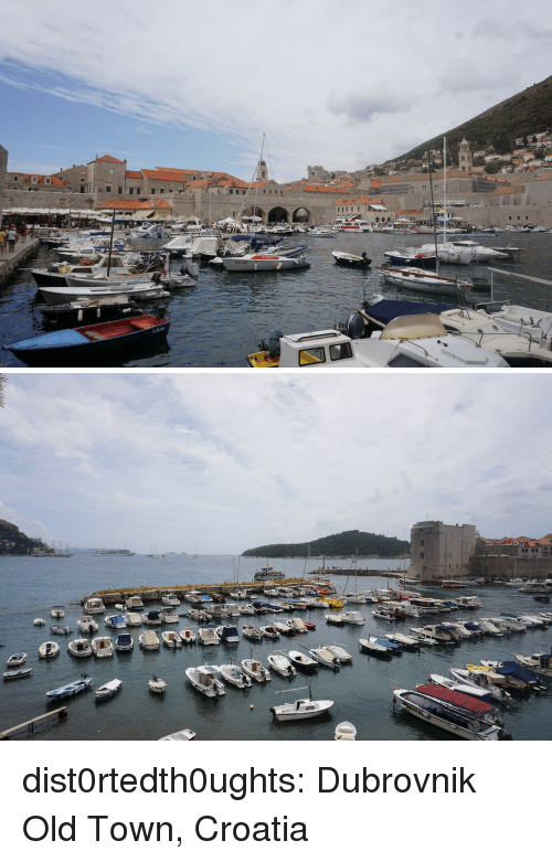 Tumblr, Blog, and Croatia: dist0rtedth0ughts: Dubrovnik Old Town, Croatia