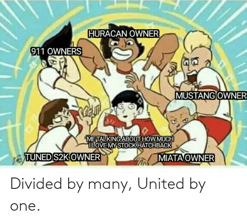 Divided: Divided by many, United by one.