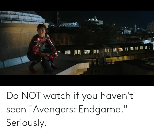 """Memes, Avengers, and Watch: Do NOT watch if you haven't seen """"Avengers: Endgame."""" Seriously."""