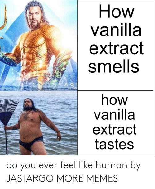 human: do you ever feel like human by JASTARGO MORE MEMES