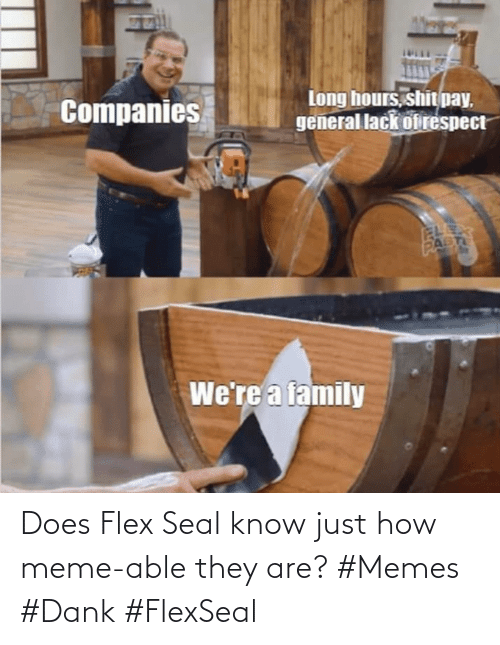 Flexing: Does Flex Seal know just how meme-able they are? #Memes #Dank #FlexSeal