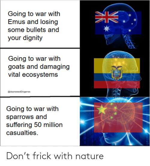 Frick: Don't frick with nature