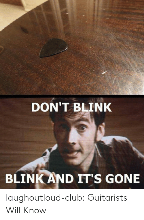 And Its Gone: DON'T BLINK  BLINK AND IT'S GONE laughoutloud-club:  Guitarists Will Know