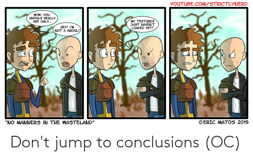 25 Best Memes About Jumps To Conclusions Jumps To Conclusions Memes