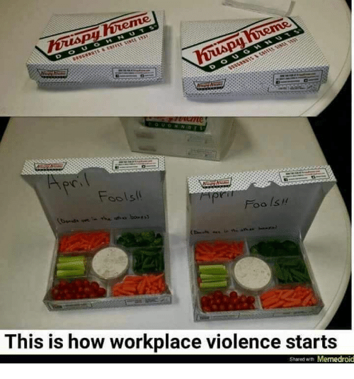 Memedroid: DOUG  Fools!  Foo ls !  This is how workplace violence starts  Shared with Memedroid